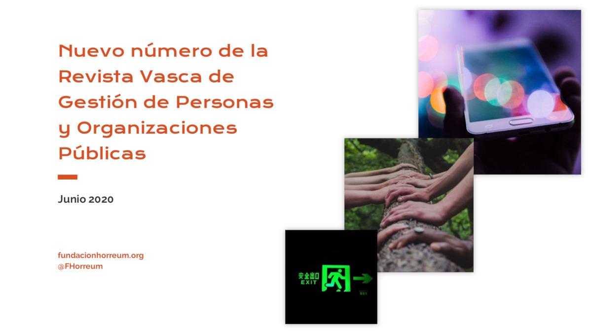Creatividad para ilustrar artículo sobre el nuevo número de la revista vasca de IVAP
