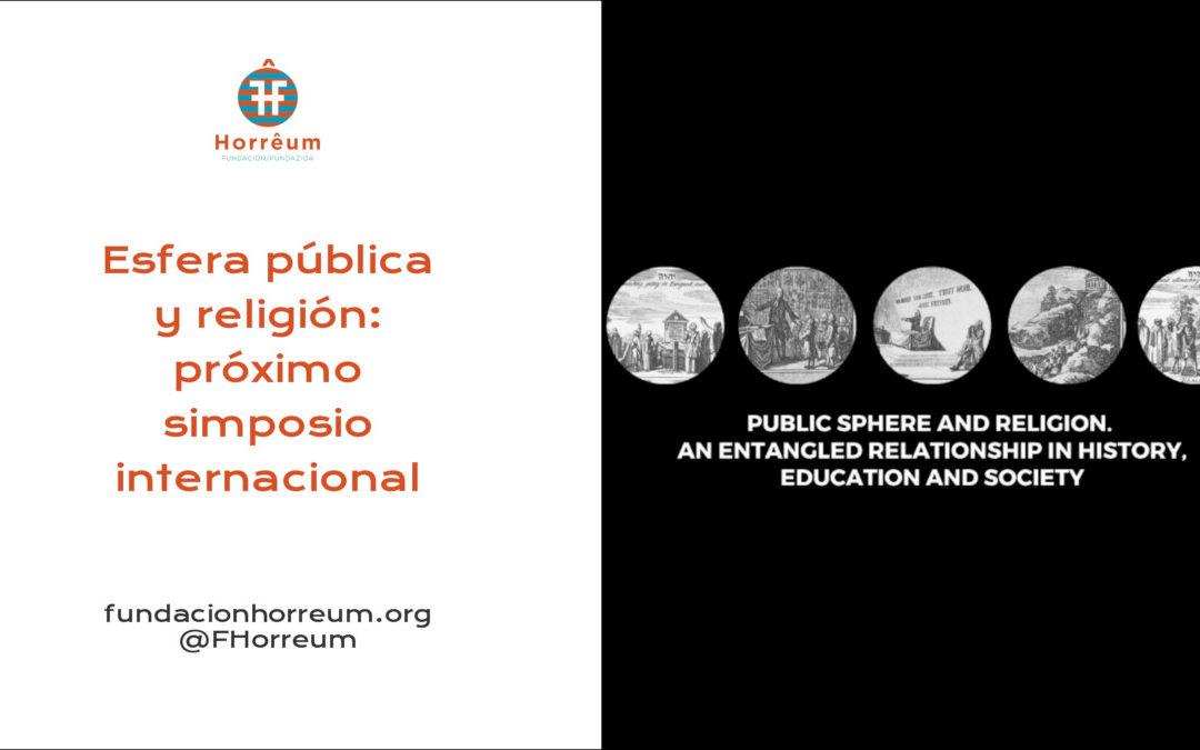 Esfera pública y religión: próximo simposio internacional