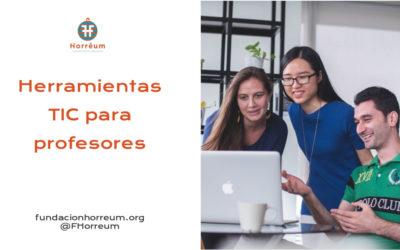 Herramientas TIC para profesores