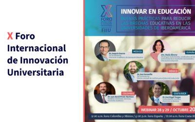 X Foro de Innovación Universitaria FIIU